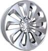 Replica A61 8.5x20/5x112 D66.6 ET37 Silver
