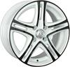 LS Wheels LS570 6.5x15/5x100 D73.1 ET40 BKF+W