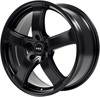 ASA Wheels AS1 7x16/5x112 D66.6 ET38 Matt Black