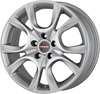 Mak Torino 6x15/5x98 D58.1 ET37.5 Silver