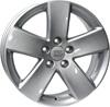 WSP Italy W458 8x18/5x120 D65.1 ET57 Silver