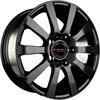 Borbet C2C 8x18/5x108 D72.5 ET45 Black Glossy