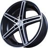 Sakura Wheels 3180 8x18/5x114.3 D73.1 ET35 Черный с полировкой
