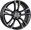 WSP Italy W681 8x19/5x120 D72.6 ET37 Anthracite Polished