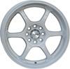 Advan RGD 6.5x15/4x98 D67.1 ET38 White