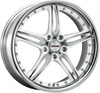 Motec Pantera 9.5x19/5x112 D66.5 ET30 Flat White Polished with Stainless Steel Lip