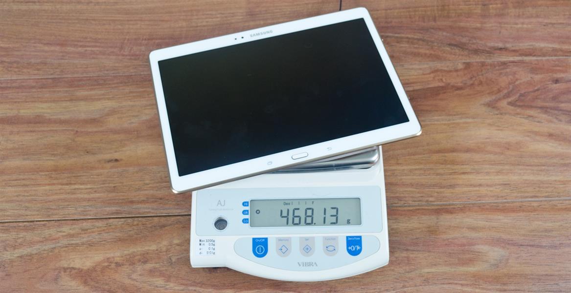 Редкий десятидюймовый планшет весит меньше, чем пол килограмма. Например, Samsung Galaxy Tab S 10.5
