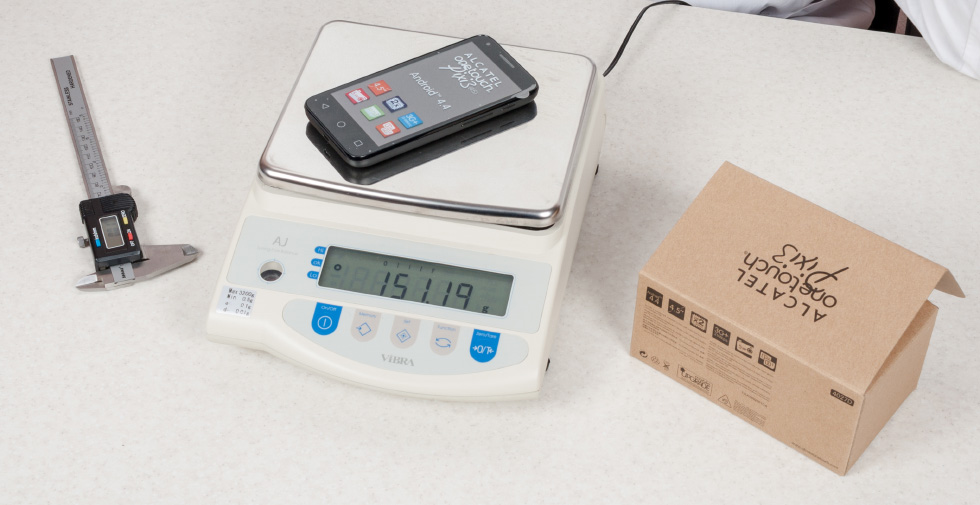 Вес Alcatel PIXI 3 (4,5) оказался больше обещанного