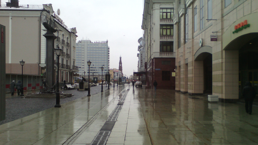 Улица, снятая на камеру Alcatel PIXI 3 (4,5)