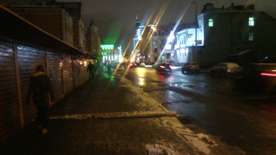 Ночное фото, снятое на Alcatel PIXI 3 (4,5)
