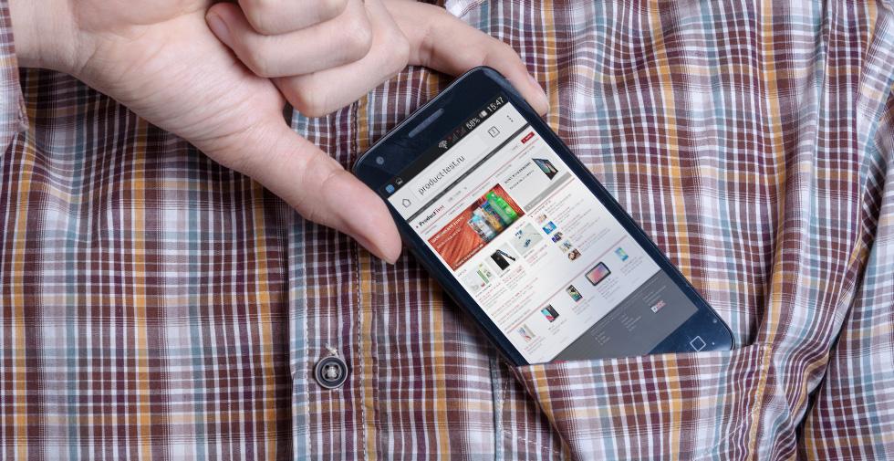 Alcatel PIXI 3 (4,5) - небольшой бюджетный смартфон