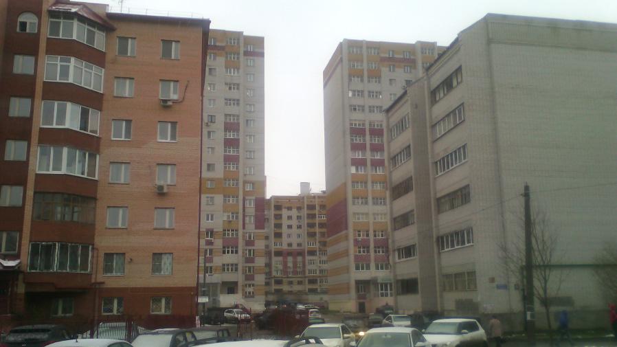 Здания, снятые на камеру Alcatel PIXI 3 (4,5)