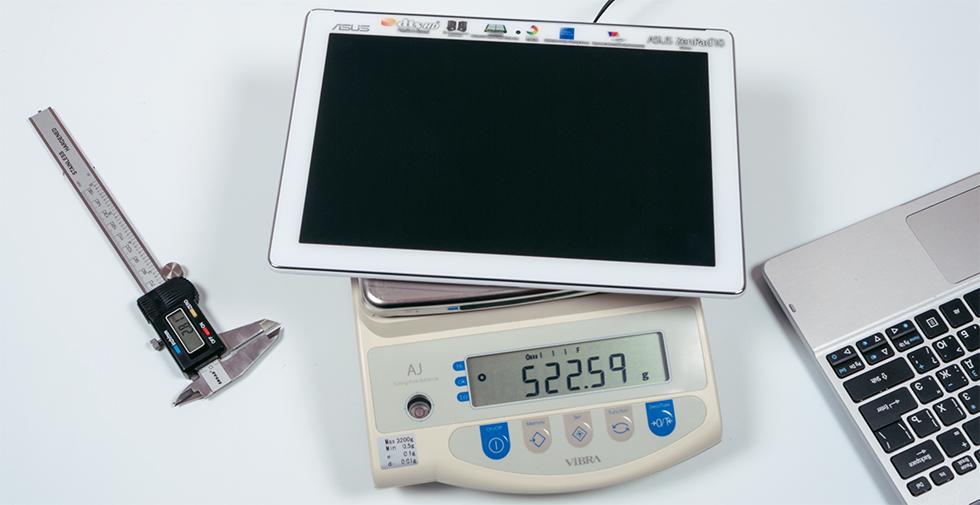 ASUS ZenPad 10 Z300CG - не самый тяжелый планшет