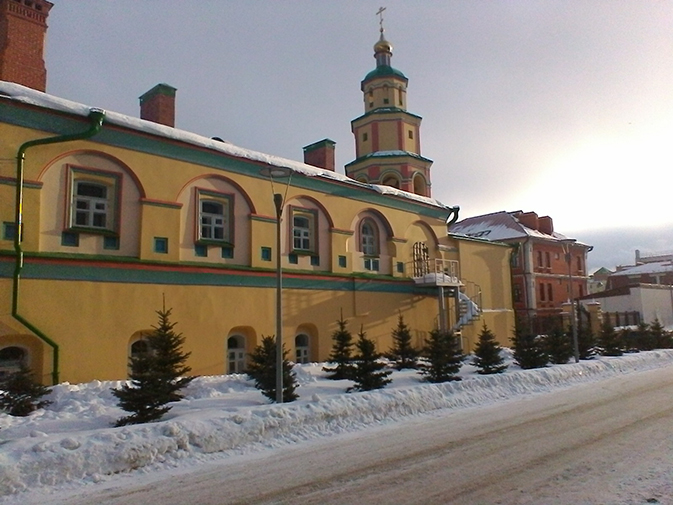 Церковь, снятая на камеру ASUS ZenPad 10 Z300CG
